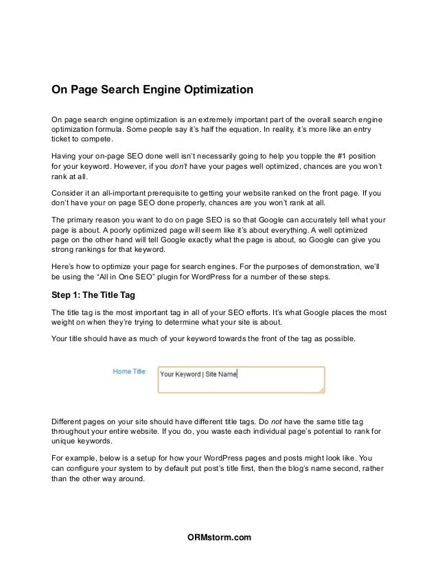 Google Penguin & Online Reputation Manangement