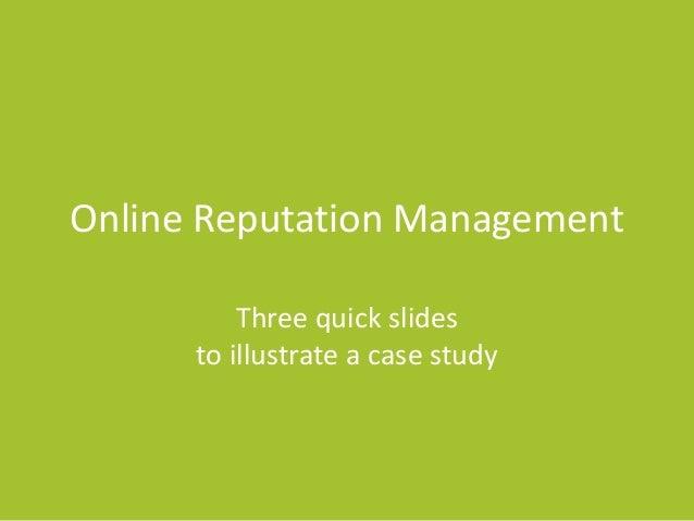 NEPA BlogCon 2013 - Online Reputation Management