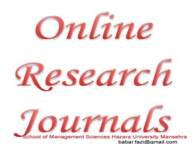 For more detail visit: http://www.ssrn.com