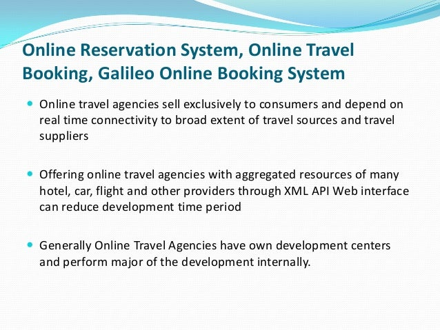 Online Reservation Sys...