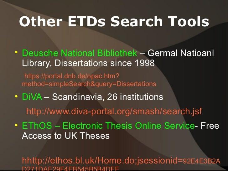 Best dissertation resources