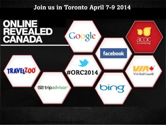 Online Revealed Conference - Digital Marketing Conference for Tourism