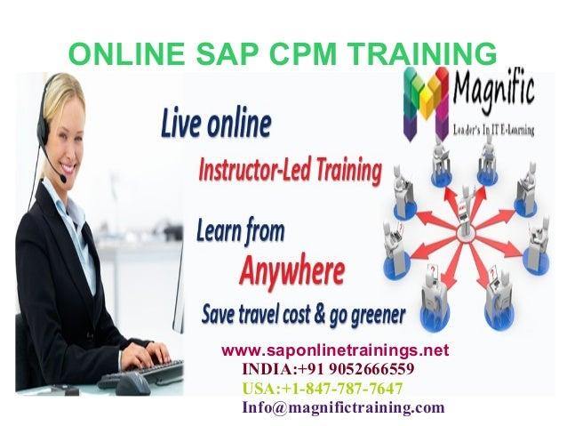 Online Sap Cpm Live Training