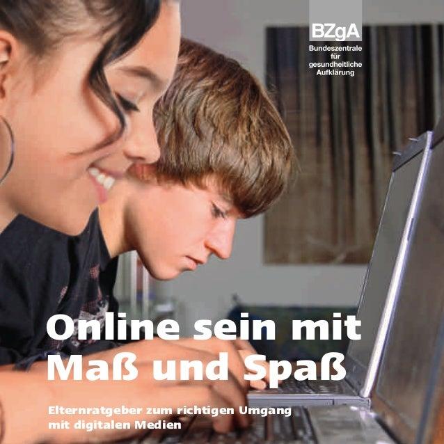 Online sein mit maß elterntipps zu digitalen medien