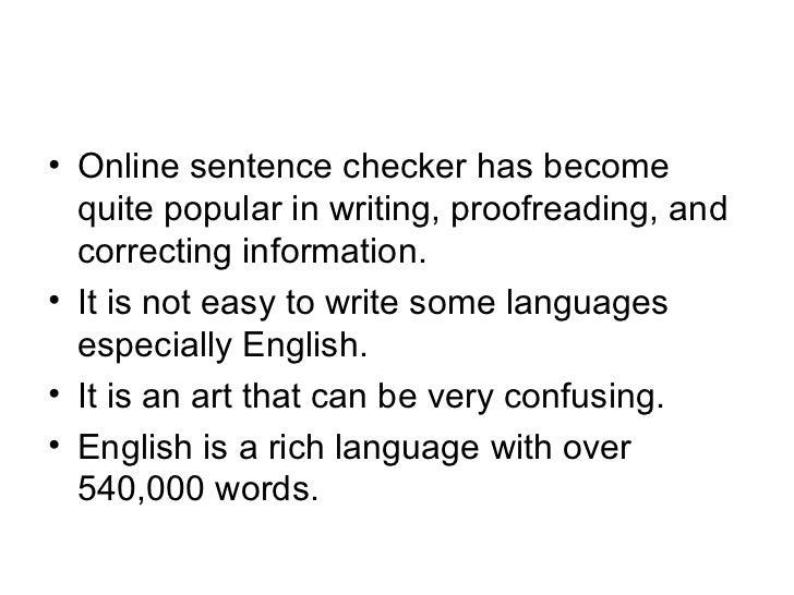 Sentence online