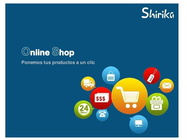Ponemos tus productos a un clic
