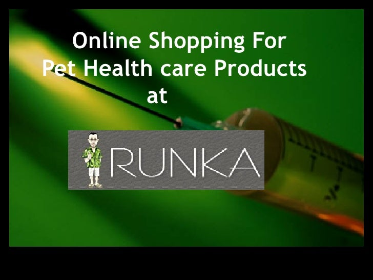 Online Shopping For  Pet Health care Products  at