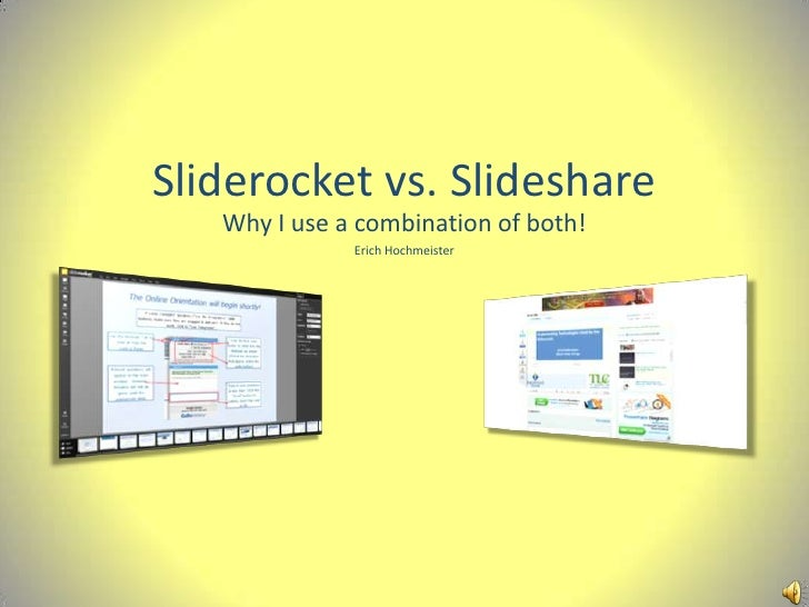 Online slide tools