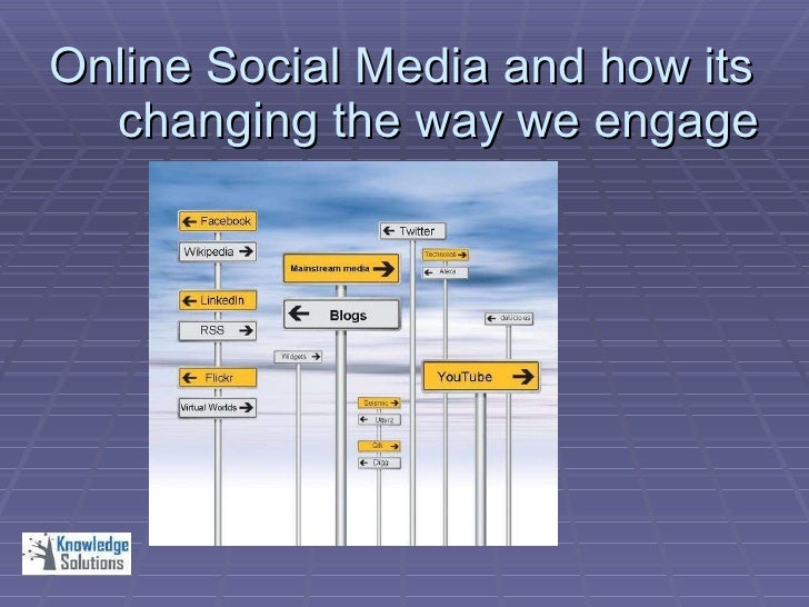 Online Social Media and how its changing the way we engage