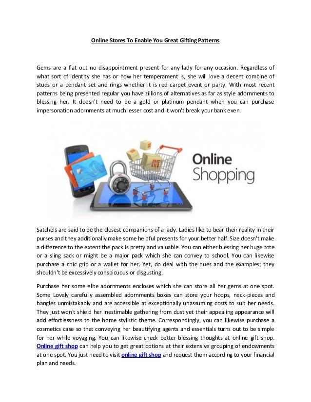 Good places to shop online