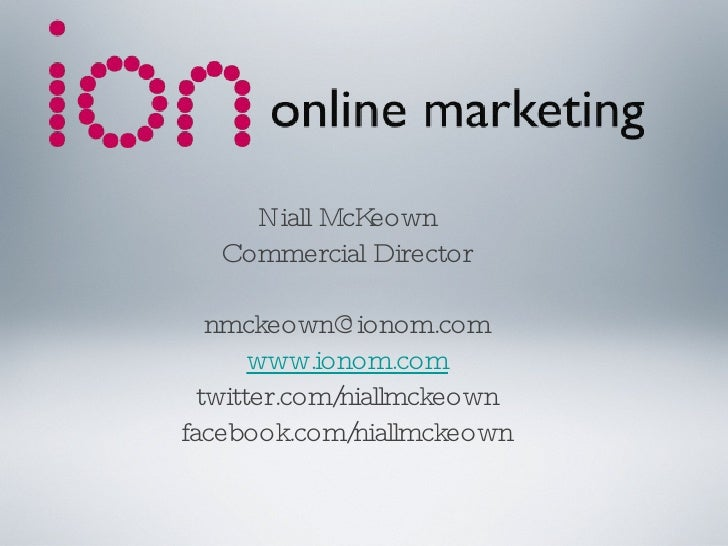 How to Create an Online Marketing Strategy -Athlone 22.04.10