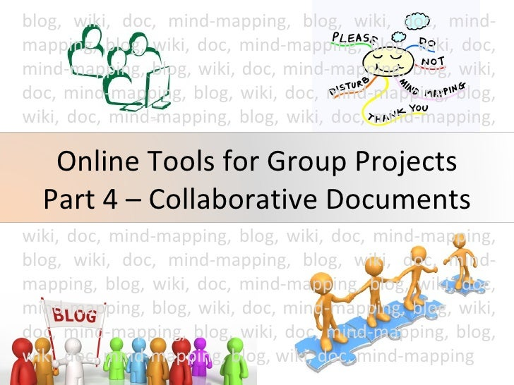 Online Tools For Group Projects Part 4 And Questions