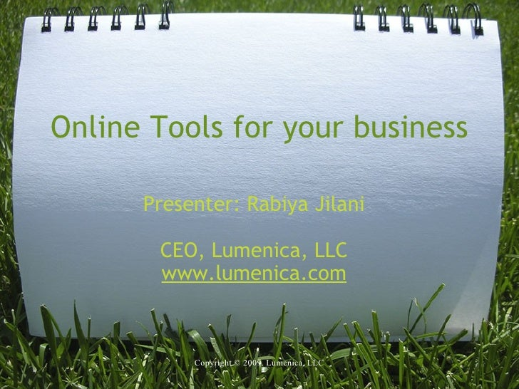 Online Tools For The Smart Business Owner