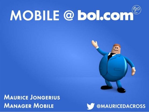 Online Tuesday #39 - Shopping 5.0 - Bol.com - Maurice Jongerius