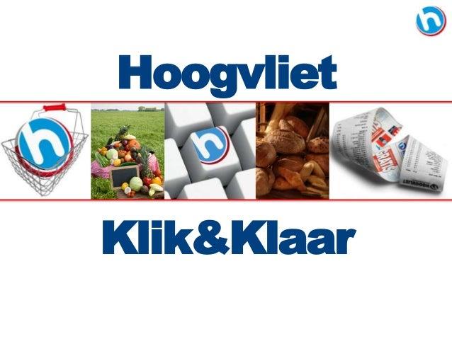 Hoogvliet Klik&Klaar