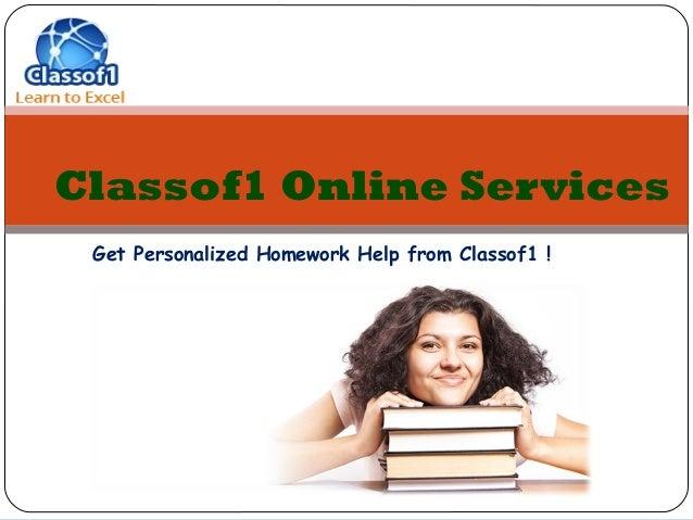 Online tutoring homework help