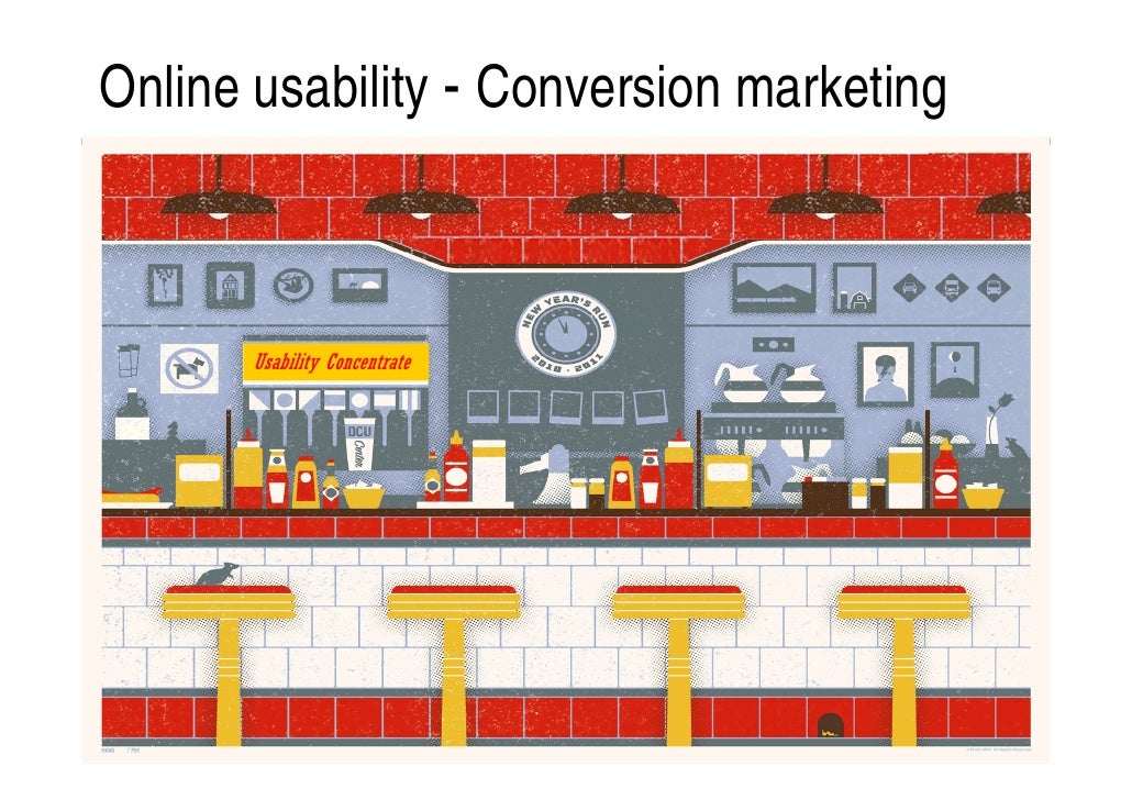 Online usability - Conversion marketing       Usability Concentrate
