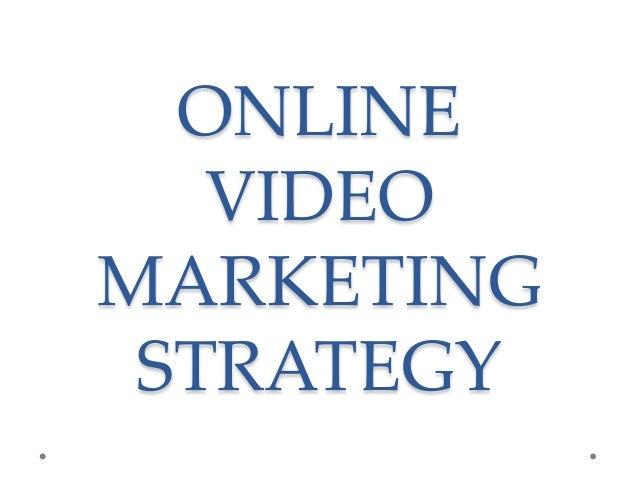 Online Video Marketing Strategy