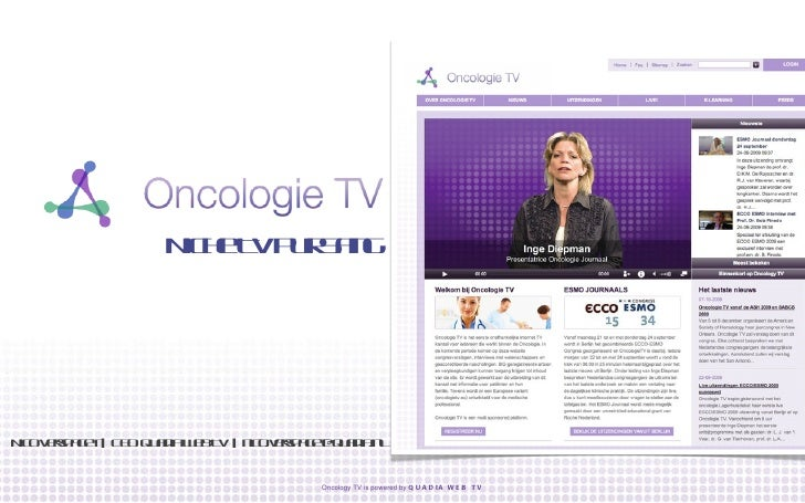 Niche TV Pur Sang Nico Verspaget     CEO Quadia Web TV     [email_address]