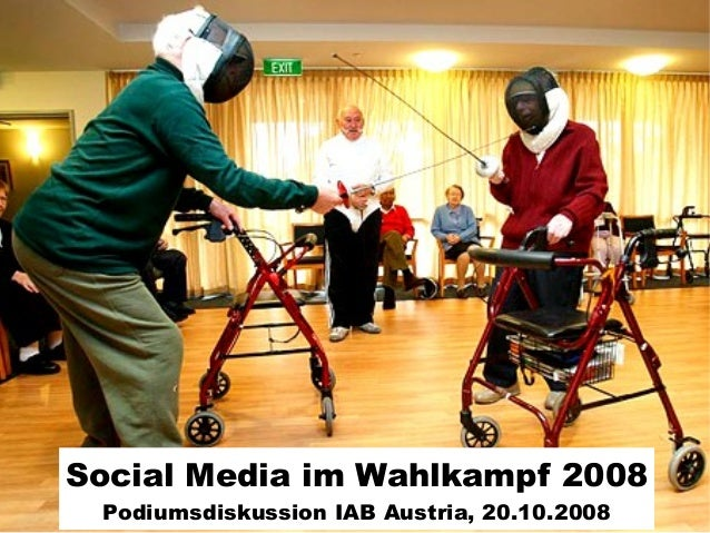 Social Media im Wahlkampf 2008 Podiumsdiskussion IAB Austria, 20.10.2008