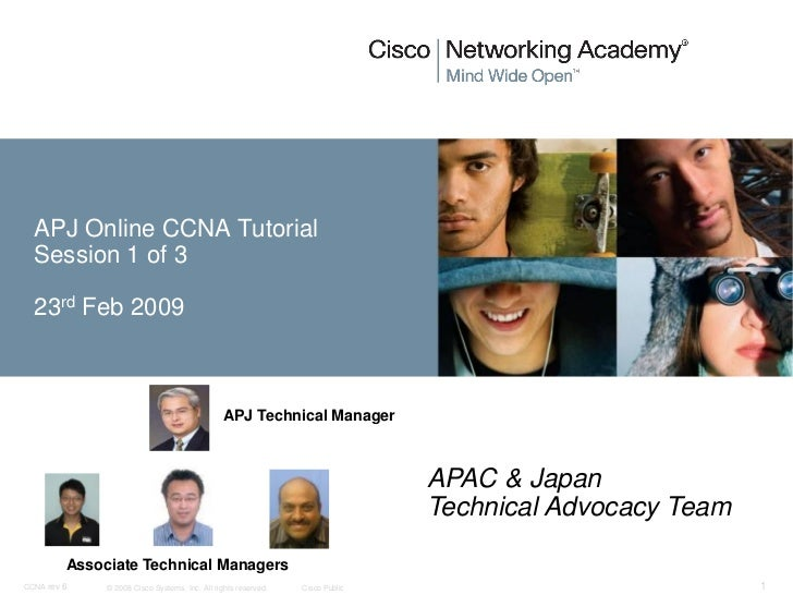 APJ Online CCNA Tutorial  Session 1 of 3  23rd Feb 2009                                                APJ Technical Manag...