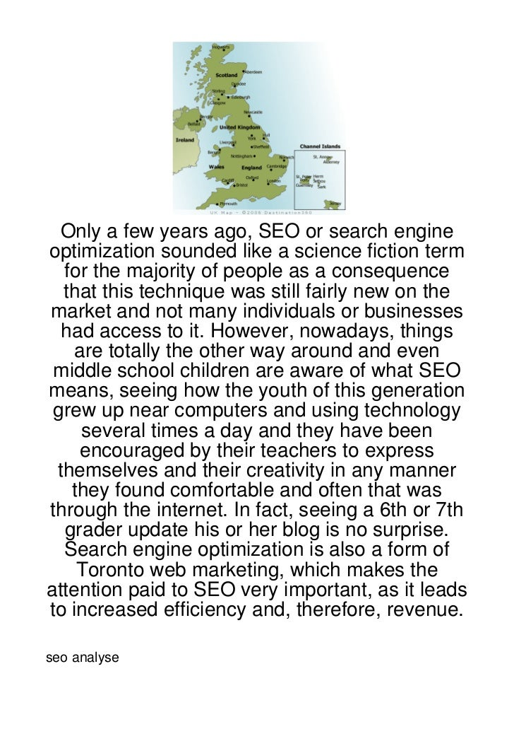 Only a few years ago, SEO or search engineoptimization sounded like a science fiction term  for the majority of people as ...