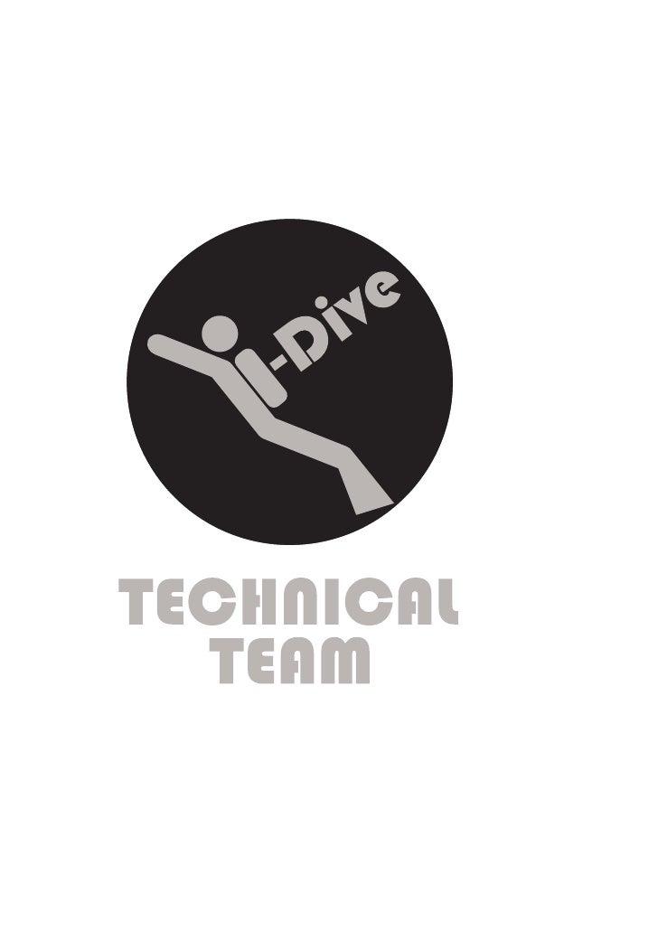 I Dive Technical Team