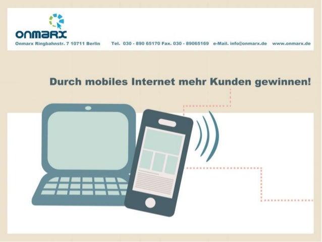 Was Unternehmen über mobile Webseiten wissen sollten