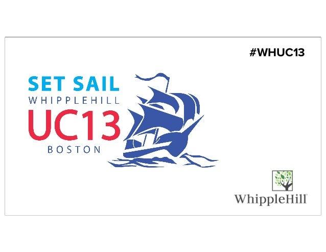 #WHUC13