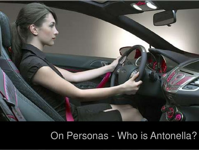On Personas - Who is Antonella?