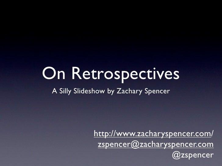 On Retrospectives