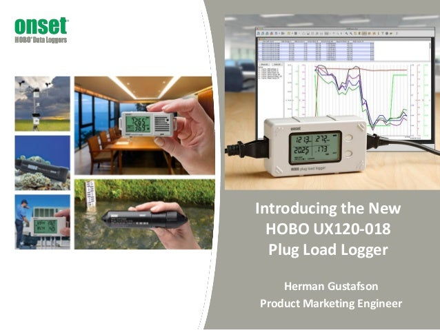 Hobo Plug Load Data Logger Webinar By Onset Hobo Data Loggers