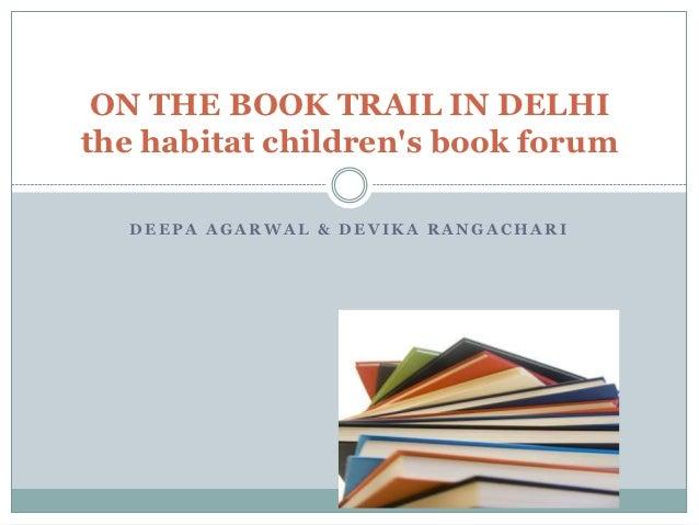 On the Book Trail in Delhi 1pptx