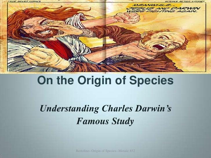 On the Origin of Species 852