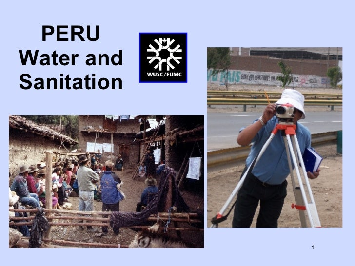 PERU Water and Sanitation