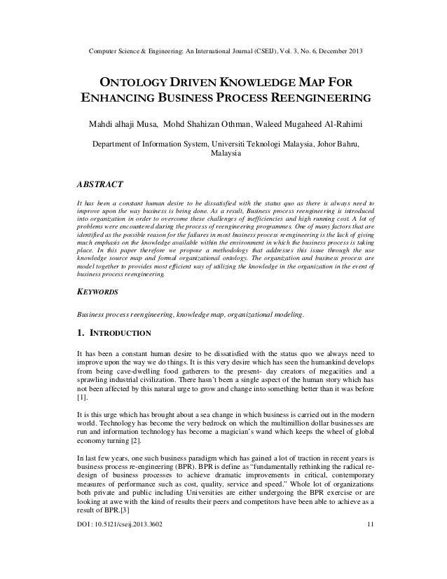 Computer Science & Engineering: An International Journal (CSEIJ), Vol. 3, No. 6, December 2013  ONTOLOGY DRIVEN KNOWLEDGE ...