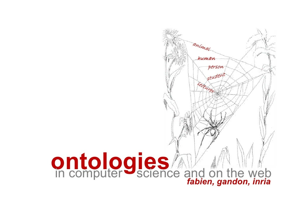 human                     person     ontologies and on the web in computer science                fabien, gandon, inria