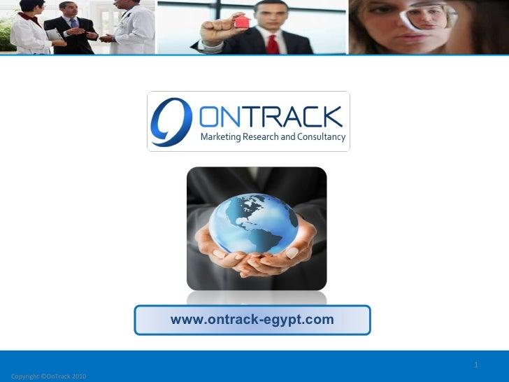 OnTrack Company Credentials.