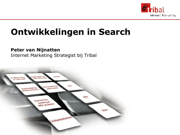 Ontwikkelingen in Search
