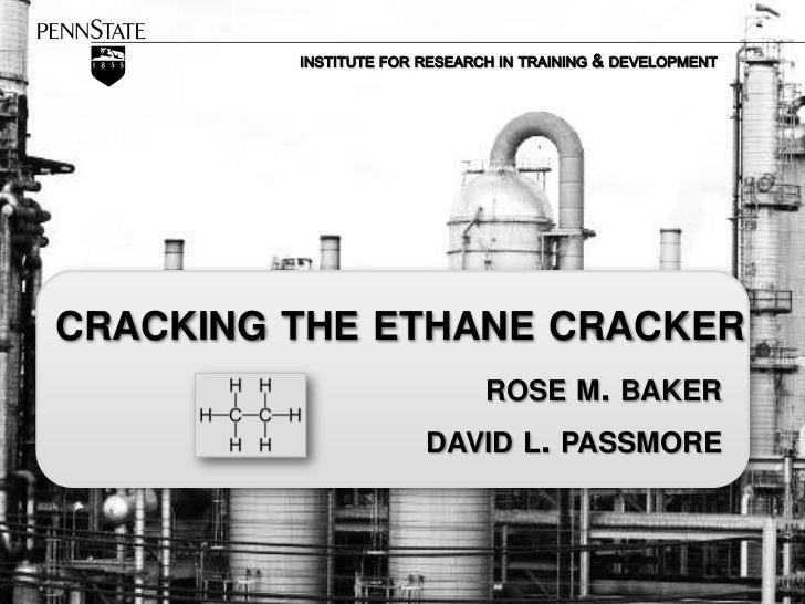 Cracking the Ethane Cracker