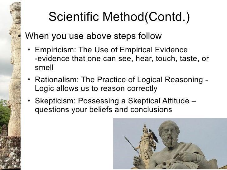 skeptical empiricism essay State the difference between rationalism, empiricism state the difference between rationalism, empiricism, transcendental idealism, and skepticism 2.