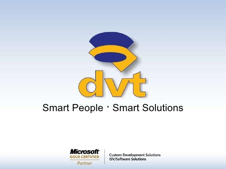 Smart People  ·  Smart Solutions