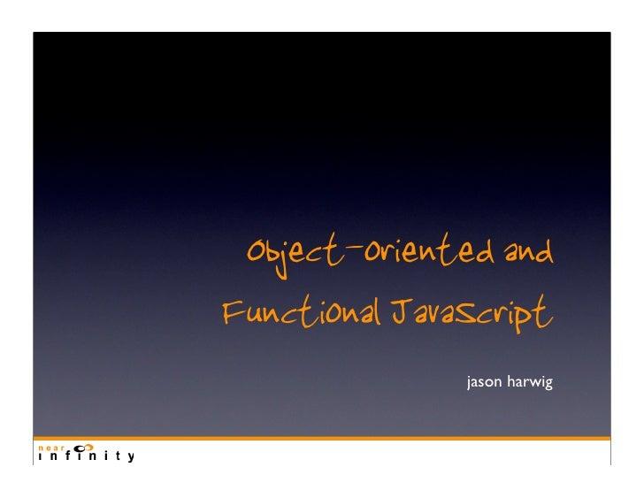 JavaScript Language Paradigms