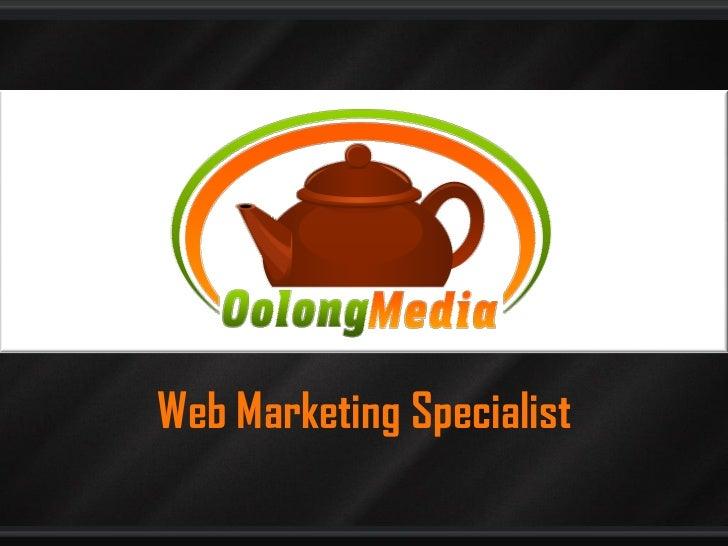 Oolong media   web marketing specialist