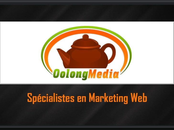 Spécialistes en Marketing Web