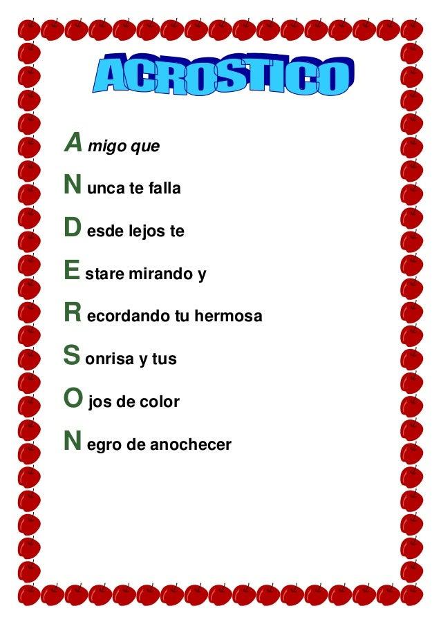 Acrostico De Sergio En Catalan - apexwallpapers.com