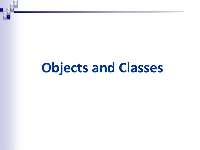 Oop objects_classes