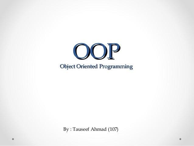 Oop's