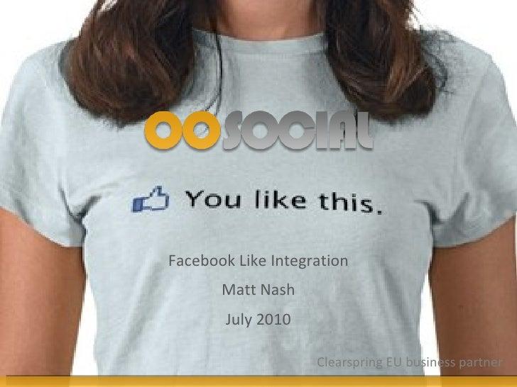 Matt Nash - OOSOCIAL