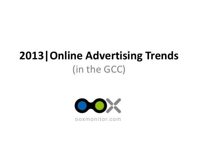 The first online advertising monitoring, intelligence and creative ad bank service in the Middle East! 2013|Online Adverti...